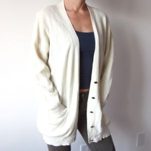 Bedo - Cream/Beige Oversized Cardigan